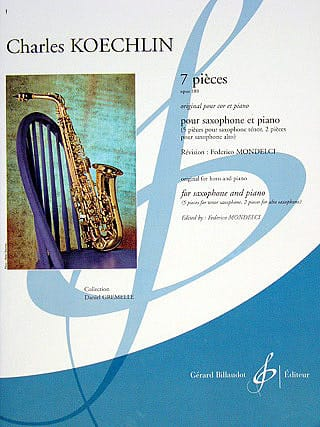 Charles Koechlin - 7 Pieces - Partition - di-arezzo.co.uk