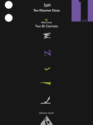 Mike Curtis - Ten Klezmer Duos Volume 1 - Partition - di-arezzo.fr