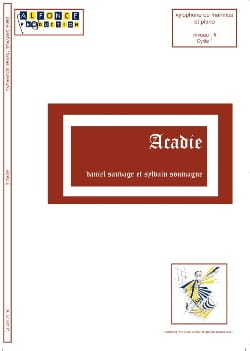 Acadie - Sauvage Daniel / Soumagne Sylvain - laflutedepan.com