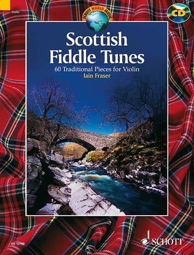 Scottish Fiddle Tunes - Iain Fraser - Partition - laflutedepan.com