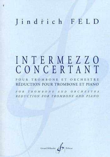 Intermezzo Concertant - Jindrich Feld - Partition - laflutedepan.com