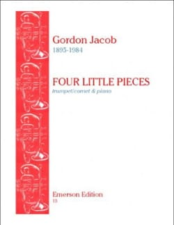 Gordon Jacob - Little Pieces oven - Partition - di-arezzo.com