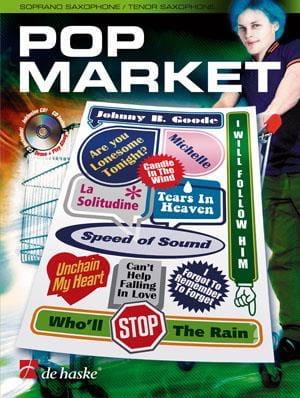 Pop Market - Partition - Saxophone - laflutedepan.com