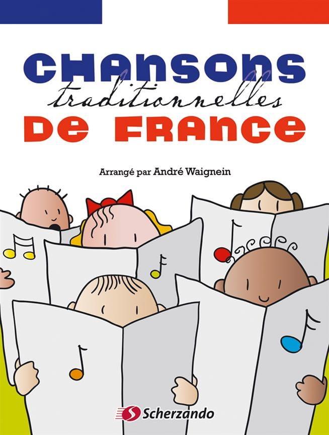 Chansons traditionnelles de France - Partition - laflutedepan.com