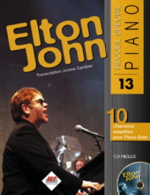 Elton John - Special Piano Collection N ° 13 - Partition - di-arezzo.co.uk
