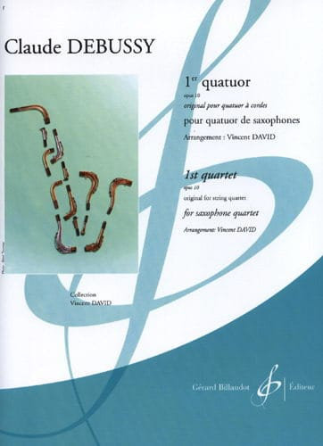 DEBUSSY - 1st Opus 10 Quartet - Partition - di-arezzo.co.uk