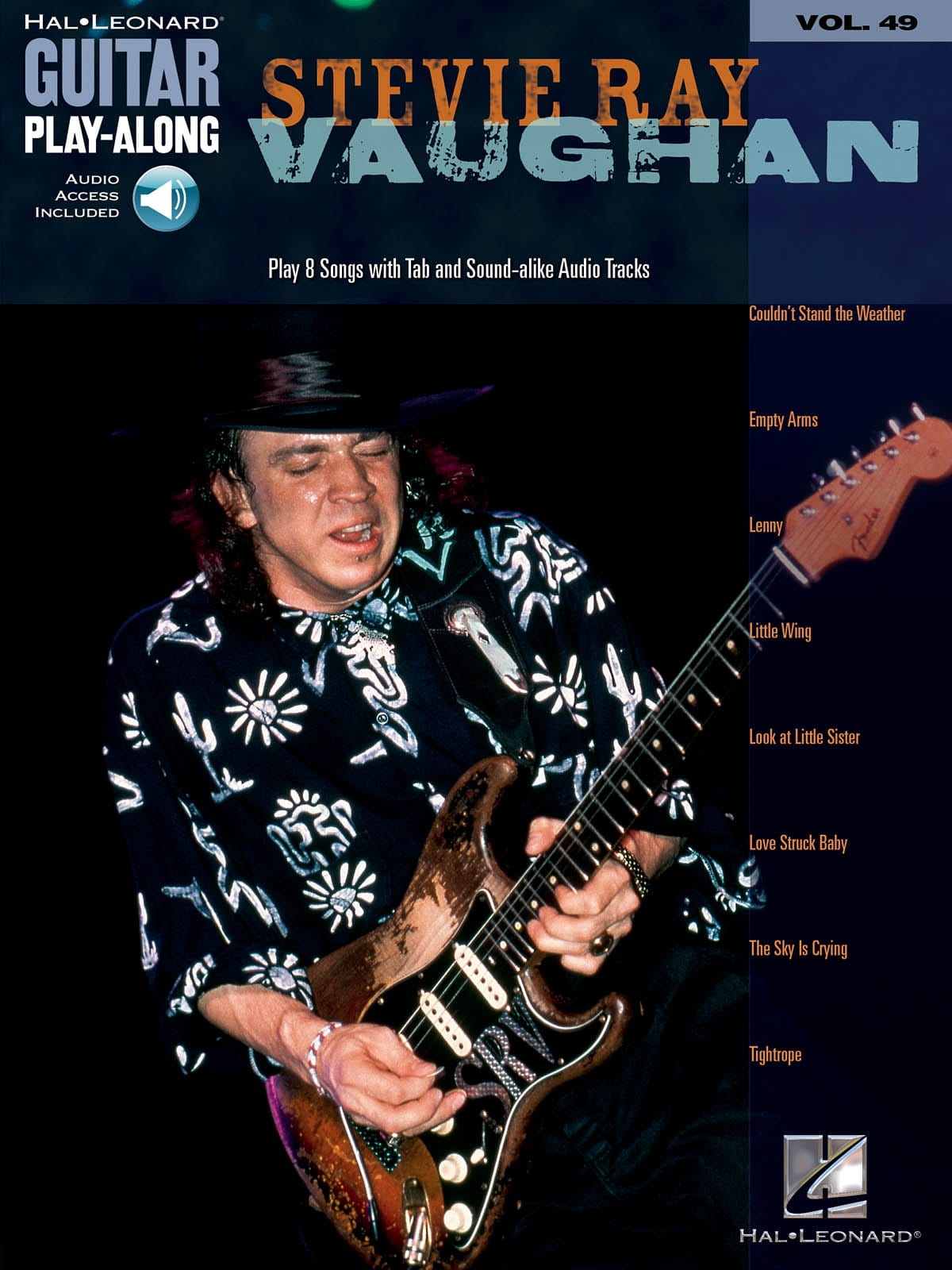 Stevie Ray Vaughan - Guitar Play-Along Volume 49 - Stevie Ray Vaughan - Partition - di-arezzo.co.uk
