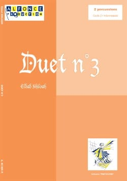 Duet N° 3 - Eldad Shiloah - Partition - laflutedepan.com