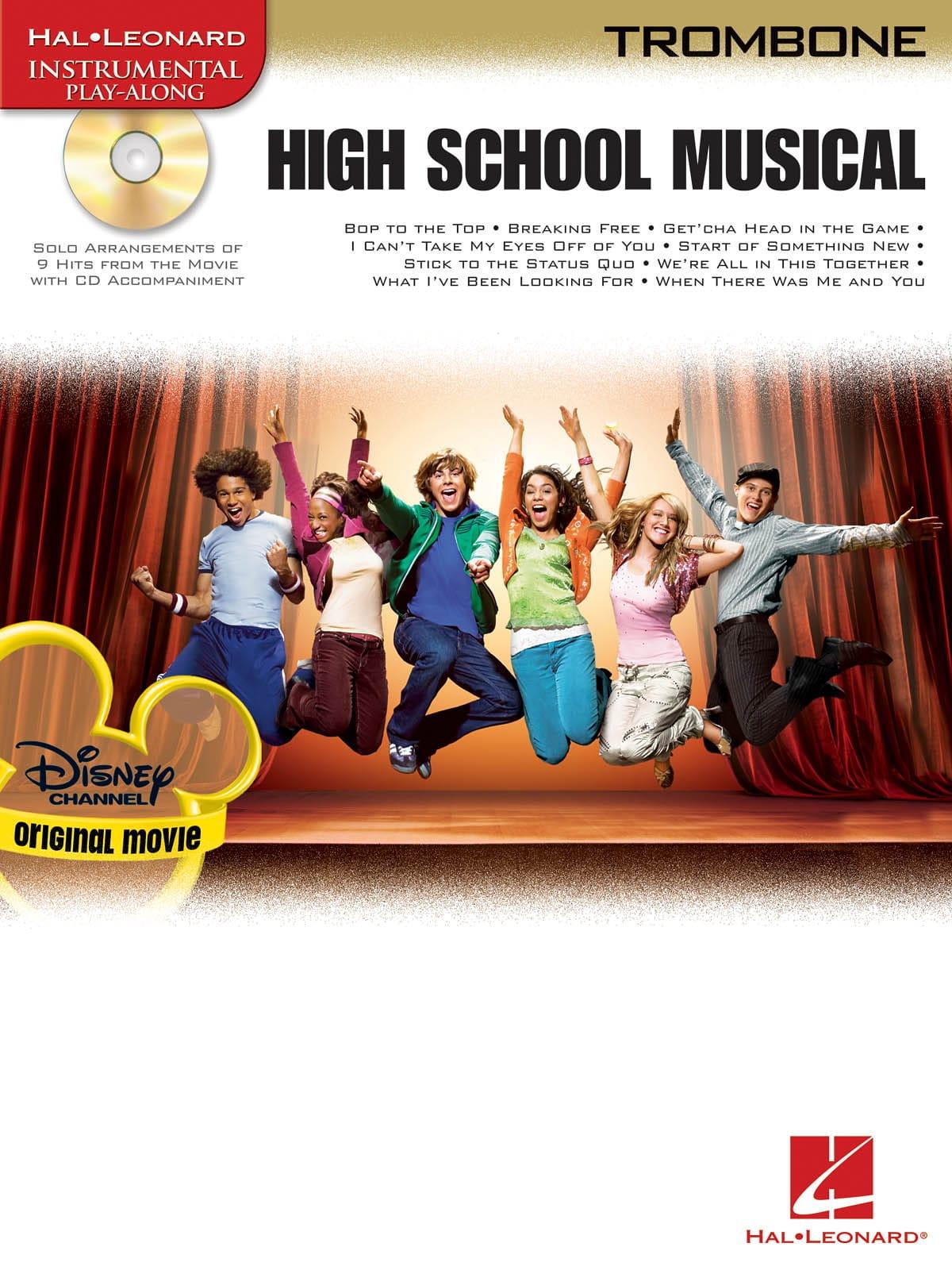 High School Musical - Partition - Trombone - laflutedepan.com
