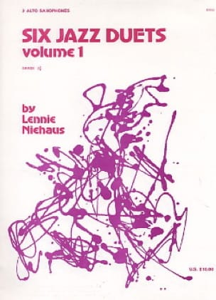 Lennie Niehaus - Six Jazz Duets Volume 1 - Partition - di-arezzo.com