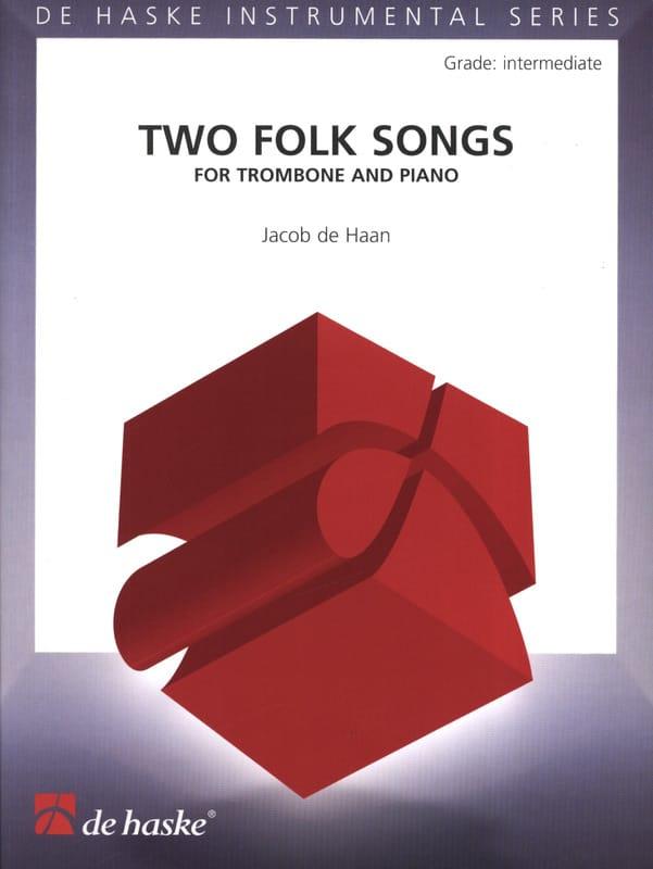 Jacob de Haan - Two Folk Songs - Partition - di-arezzo.com