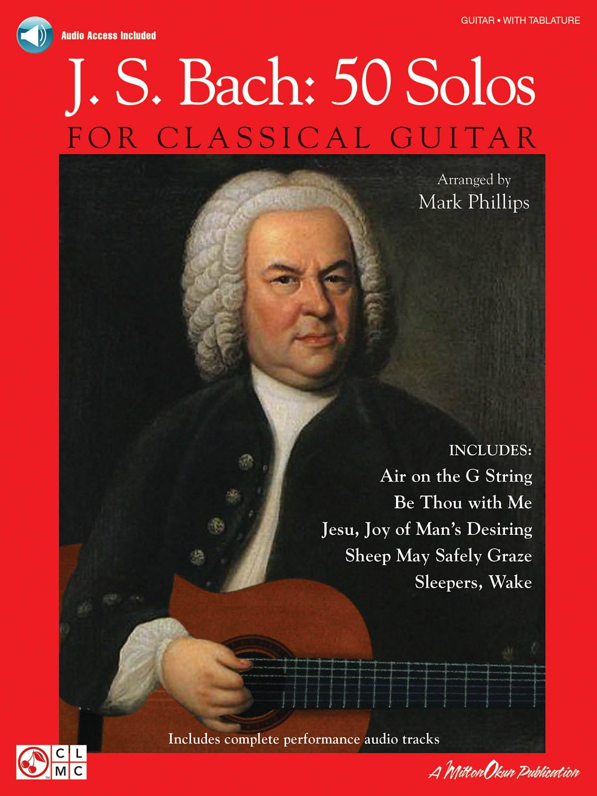 BACH - JS Bach: 50 Solos For Classical Guitar - Partition - di-arezzo.co.uk