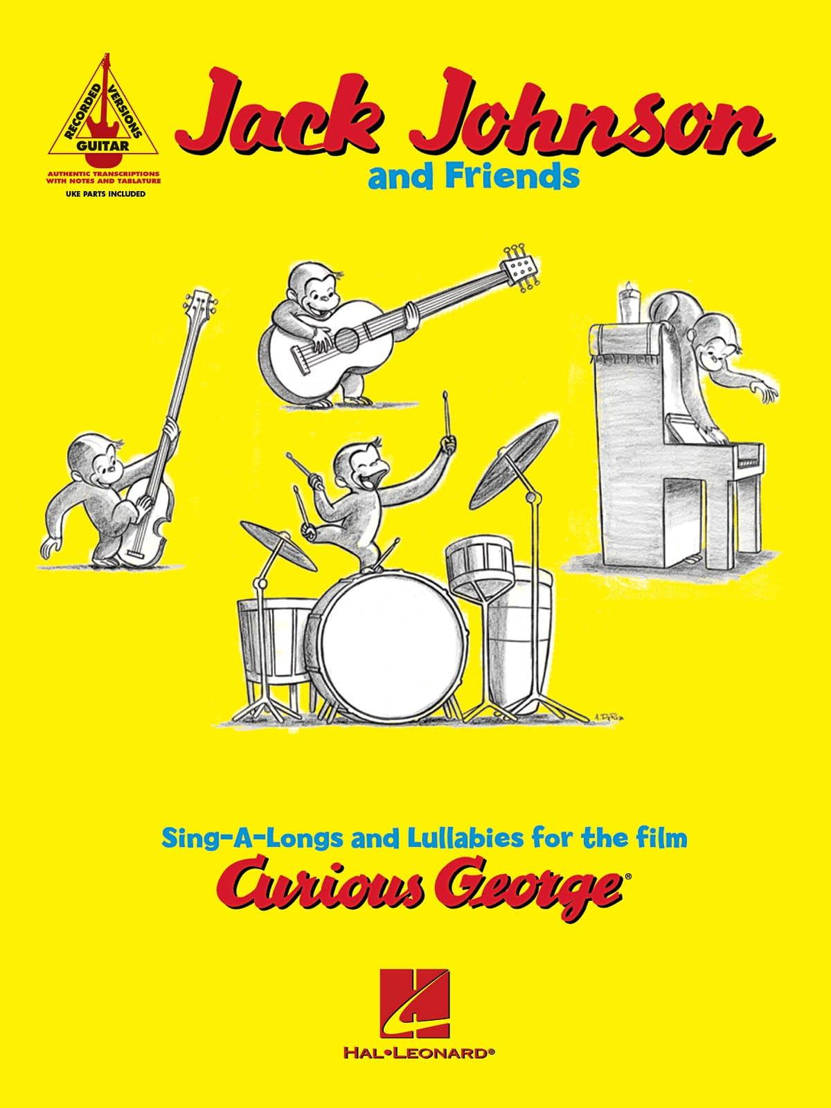 Curious George - Jack Johnson - Partition - laflutedepan.com