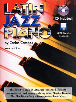 Latin Jazz Piano Volume One - Carlos Campos - laflutedepan.com