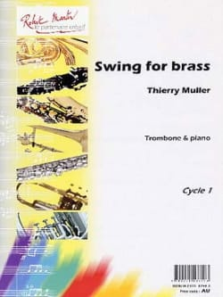 Thierry Muller - Swing For Brass - Partition - di-arezzo.com