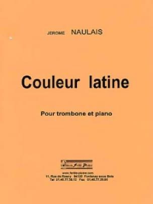 Couleur Latine - Jérôme Naulais - Partition - laflutedepan.com