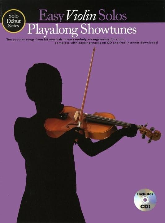 Easy Violin Solos Playalong Showtunes - laflutedepan.com