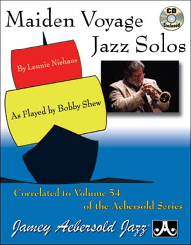 METHODE AEBERSOLD - Maiden Solos Jazz Travel - Partition - di-arezzo.it