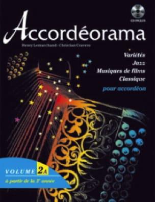 Accordéorama Volume 2 A - Partition - Accordéon - laflutedepan.com