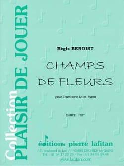 Champs de Fleurs - Régis Benoist - Partition - laflutedepan.com