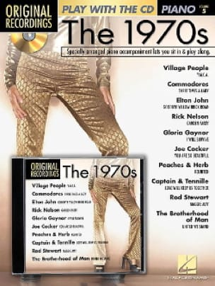 Play with the CD The 1970s Piano Volume 5 - laflutedepan.com