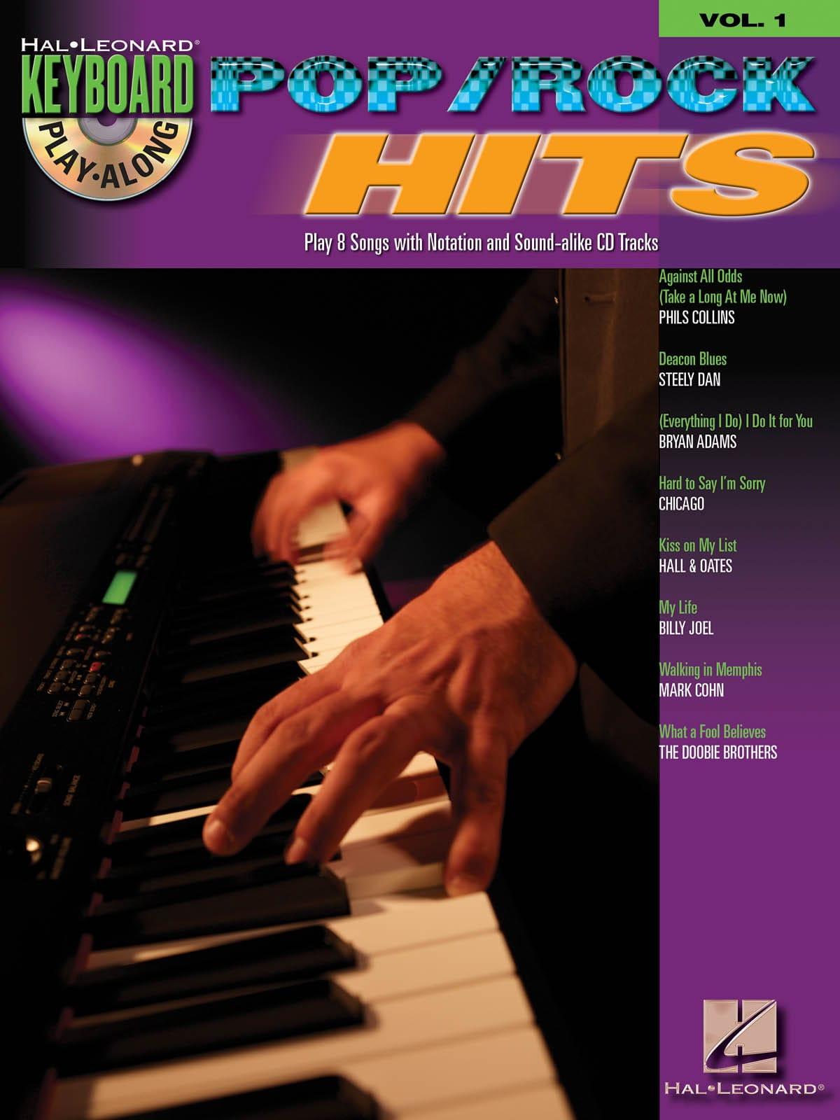 Keyboard Play-Along Volume 1 - Pop / Rock Hits - laflutedepan.com