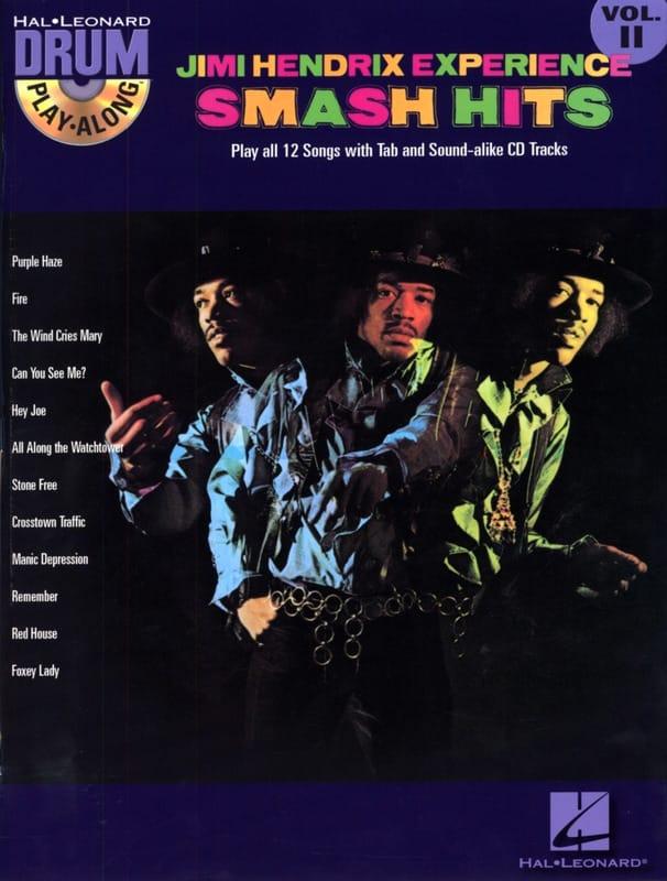 Jimi Hendrix - Drum play-along volume 11 - The Jimi Hendrix Experience Smash Hits - Partition - di-arezzo.co.uk