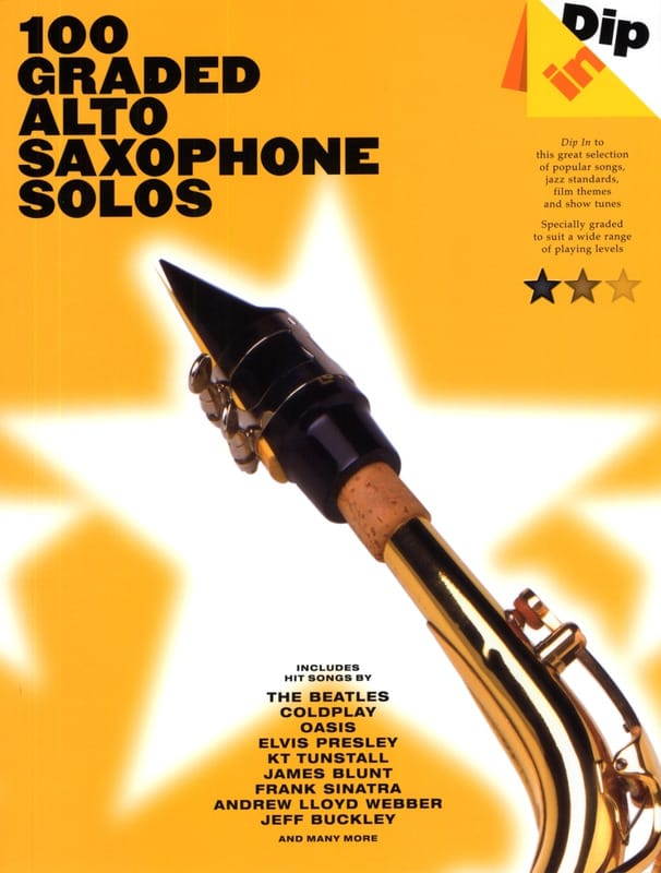 100 Graded Alto Saxophone Solos - Dip In - laflutedepan.com