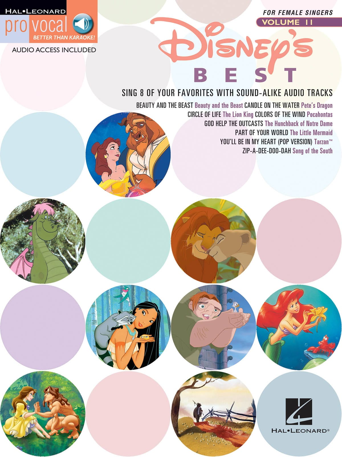 DISNEY - Pro Vocal Women's Edition Volume 11 - Disney's Best - Partition - di-arezzo.co.uk