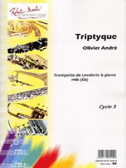 Triptyque - Olivier André - Partition - Trompette - laflutedepan.com