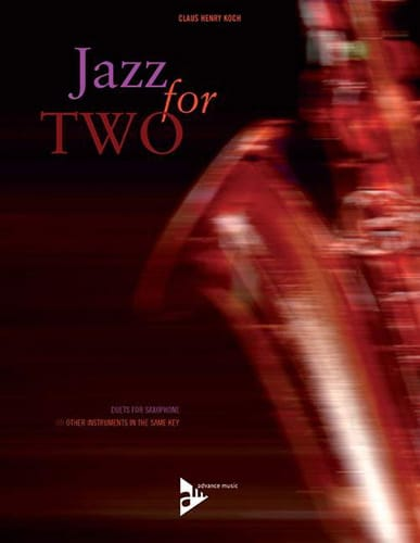 Jazz For Two - Claus Henry Koch - Partition - laflutedepan.com