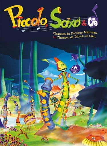 Piccolo, Saxo & Cie - André Popp - Partition - laflutedepan.com