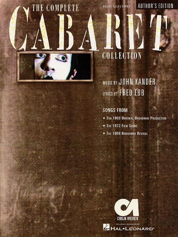 The Complete Cabaret Collection - John Kander - laflutedepan.com
