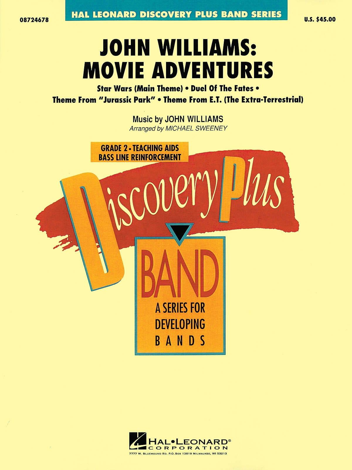 John Williams: Movie Adventures - John Williams - laflutedepan.com