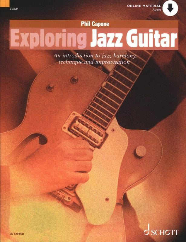 Phil Capone - Exploring Jazz Guitar - Partition - di-arezzo.com