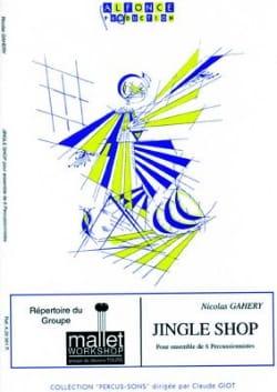 Jingle Shop - Nicolas Gahery - Partition - laflutedepan.com