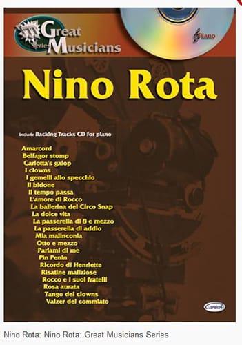 Nino Rota - Great Musicians Series - Partition - di-arezzo.co.uk