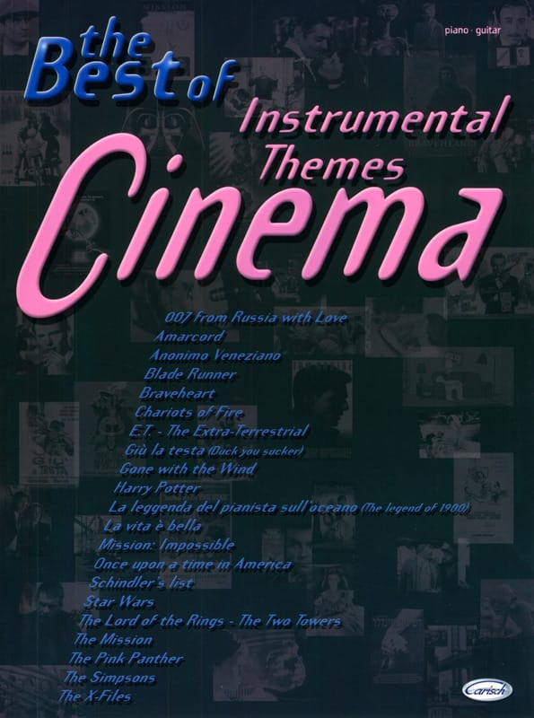 - The Best Of Instrumental Cinema Themes - Partition - di-arezzo.co.uk