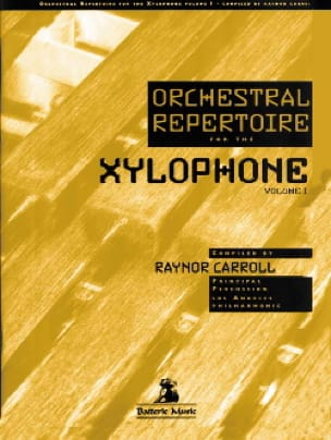 Orchestral repertoire for the xylophone volume 1 - laflutedepan.com