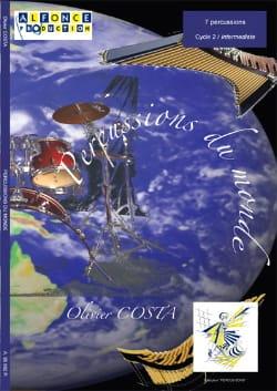 Percussions du Monde - Olivier Costa - Partition - laflutedepan.com