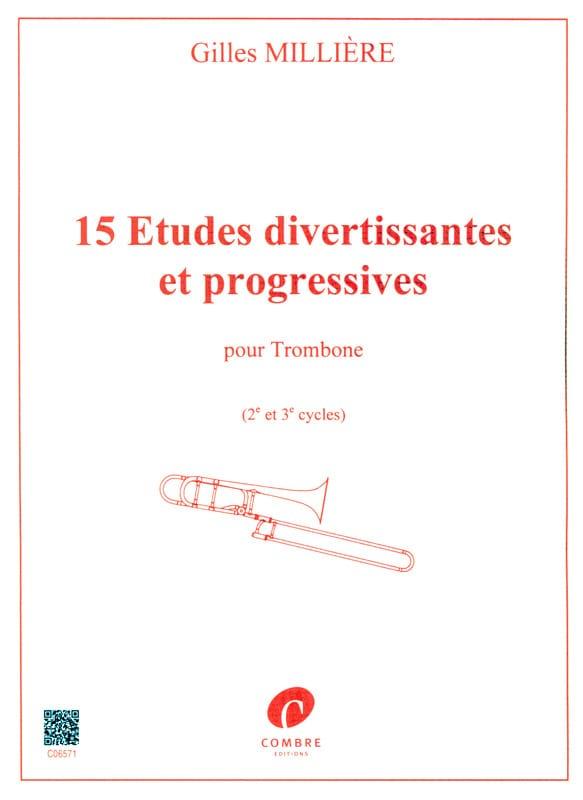 Gilles Millière - 15 Entertaining and Progressive Studies - Partition - di-arezzo.co.uk
