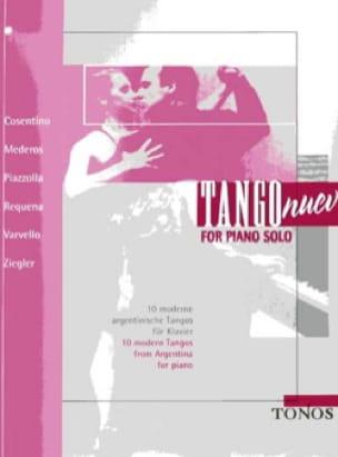 Tango Nuevo For Piano Solo - Partition - laflutedepan.com