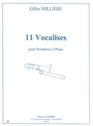 Gilles Millière - 11 Vocalises - Partition - di-arezzo.co.uk