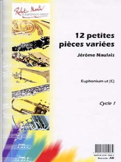 12 Petites Pièces Variées Ut - Jérôme Naulais - laflutedepan.com