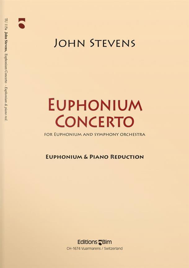 Euphonium Concerto - John Steven - Partition - Tuba - laflutedepan.com