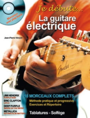 Jean-Pierre Vimont - I start the electric guitar - Partition - di-arezzo.co.uk