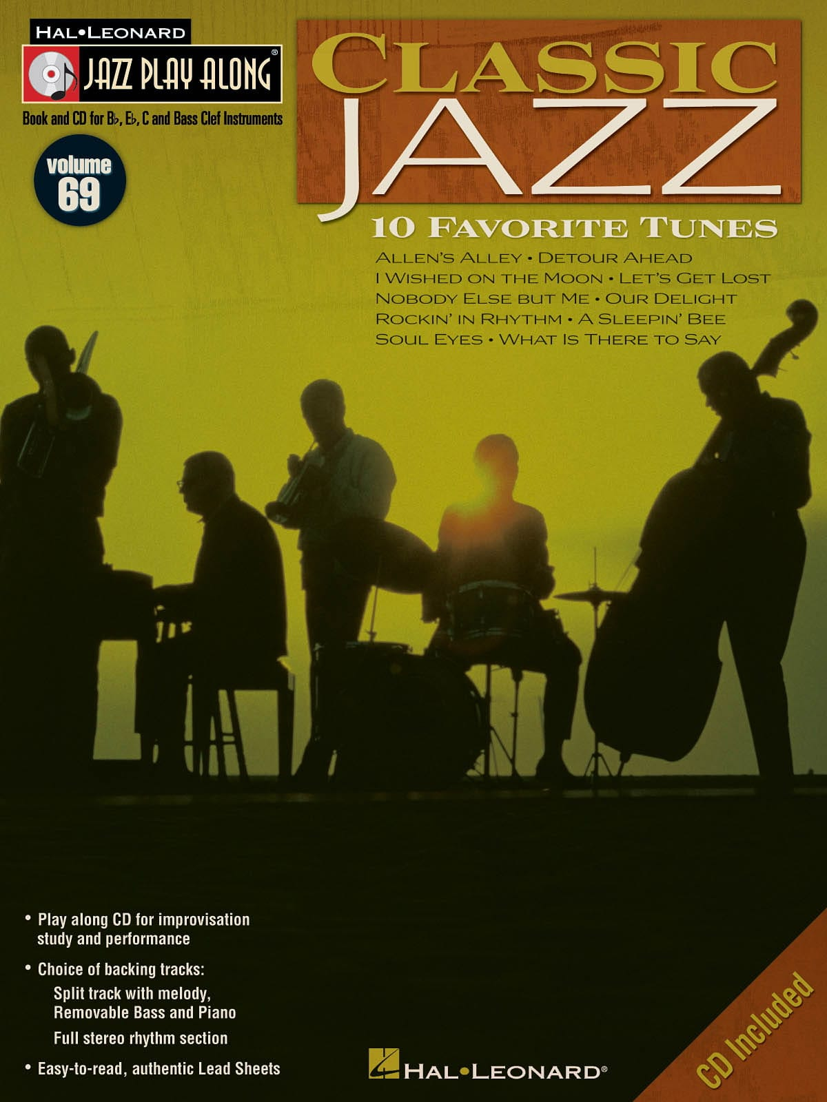 Jazz play-along volume 69 - Classic Jazz - laflutedepan.com