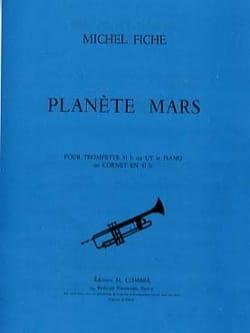 Planète Mars - Michel Fiche - Partition - Trompette - laflutedepan.com
