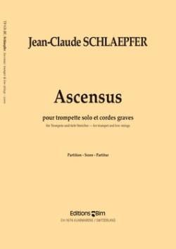 Ascensus - Jean-Claude Schlaepfer - Partition - laflutedepan.com