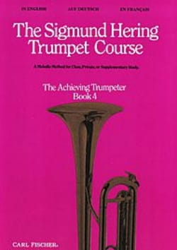 Sigmund Hering - The Sigmund Hering Trumpet Course Book 4 - Partition - di-arezzo.com